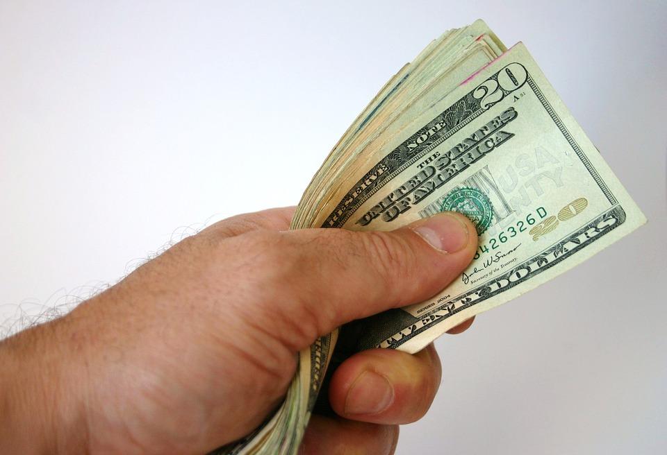 držené dolary