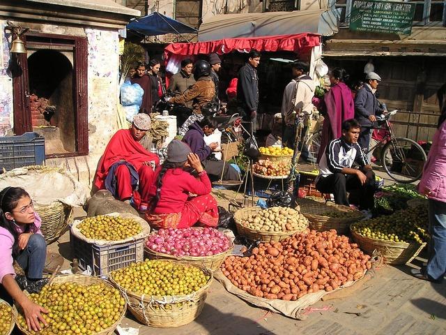 Nepálský trh