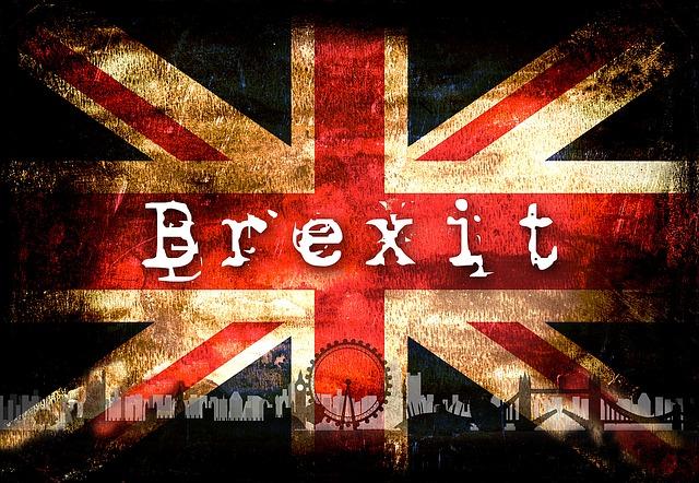 Britská vlajka a Brexit