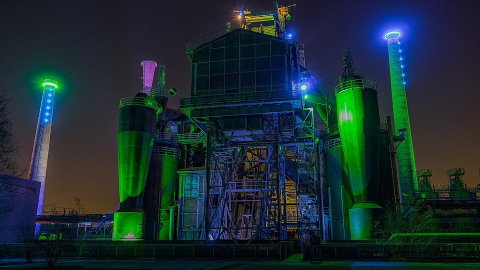 průmyslový objekt