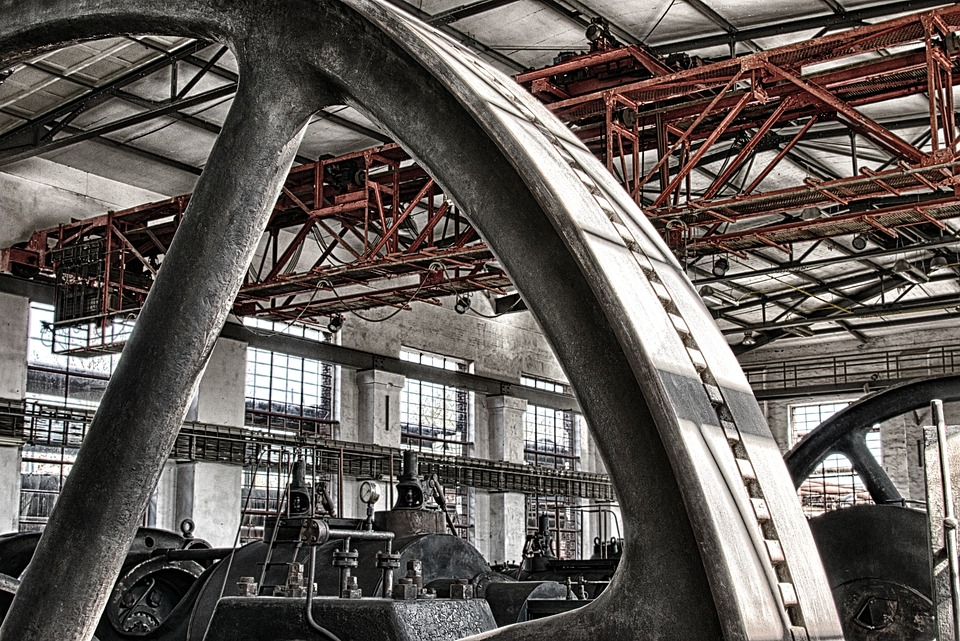 tovární hala